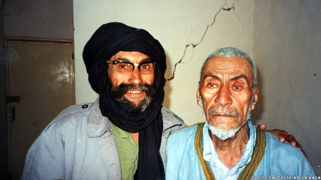 prótesis oculares en el Sahara